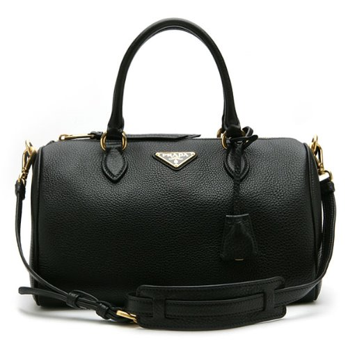 PRADA 1BB797 VITELLO PHENIX NERO