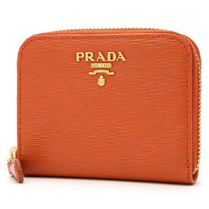 PRADA 1MM268 VITELLO MOVE PAPAYA