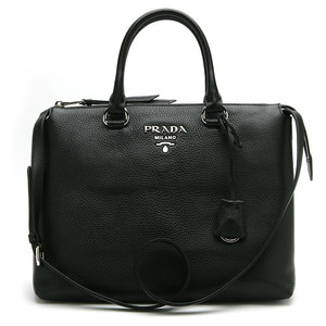 PRADA 1BA063 VITELLO PHENIX NERO