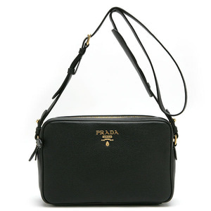 PRADA 1BH079 VITELLO PHENIX NERO