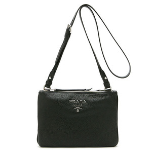 PRADA 1BH046 VITELLO PHENIX NERO(은장)