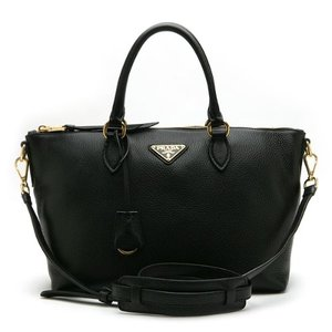 PRADA 1BA104 VITELLO PHENIX NERO
