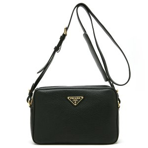 PRADA 1BH089 VITELLO PHENIX NERO OOW