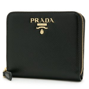 PRADA 1ML036 SAFFIANO METAL NERO